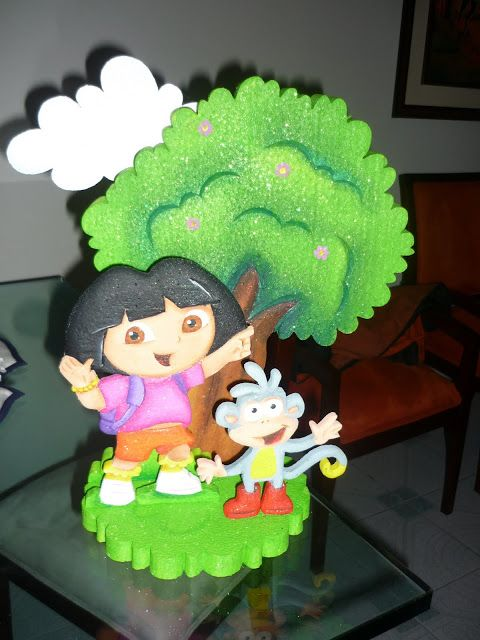 Light Goes Decorating: Dora la exploradora.