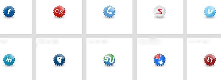 custom social share buttons