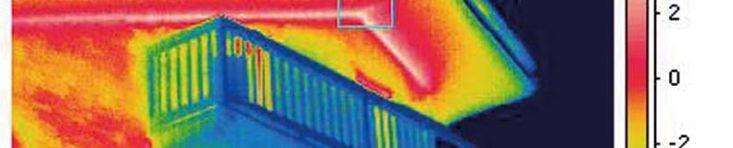 Diagnosi termografica, o termografia, applicata agli edifici