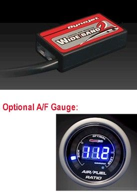 Air to Fuel ratio gauge for the UK Honda Grom MSX125 motorcycle. Ideal for use when tuning your #Grom