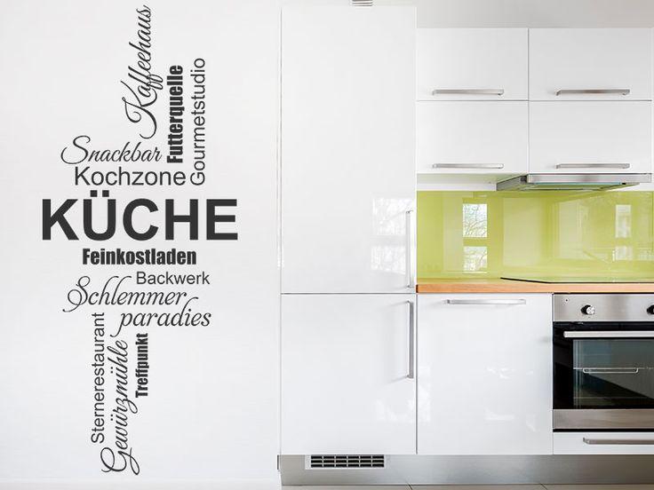 Die besten 25+ Wandtattoos küche Ideen auf Pinterest Wandtattoo - wandtattoo küche guten appetit