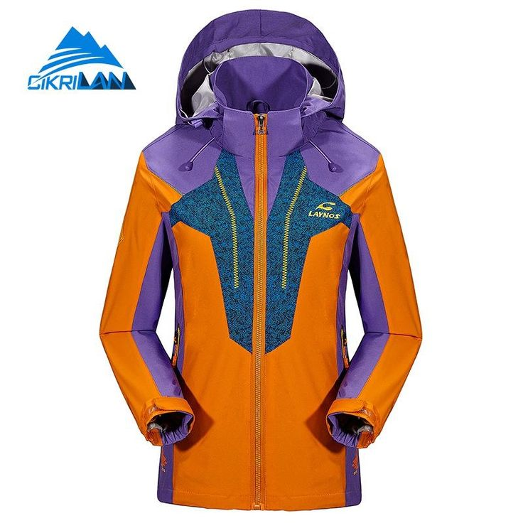 93.94$  Buy here - http://alizum.worldwells.pw/go.php?t=32781960741 - 6 sizes Spring Autumn Mixed Colors Outdoor Sport Casacos Camping Climbing Chaquetas Mujer Waterproof Jacket Women Hiking Coat