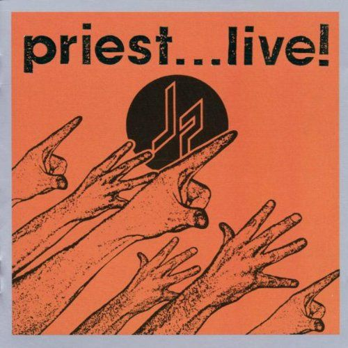 Judas Priest  | Judas Priest Priest Live album cover.  Recorded in Dallas, TX...I was at this concert.  One of the best I've ever been to.