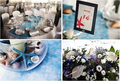 Meseros marineros centros de mesa y mesas decoradas - Decoracion estilo marinero ...