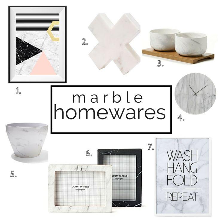 Marble Homewares | Our Urban Box