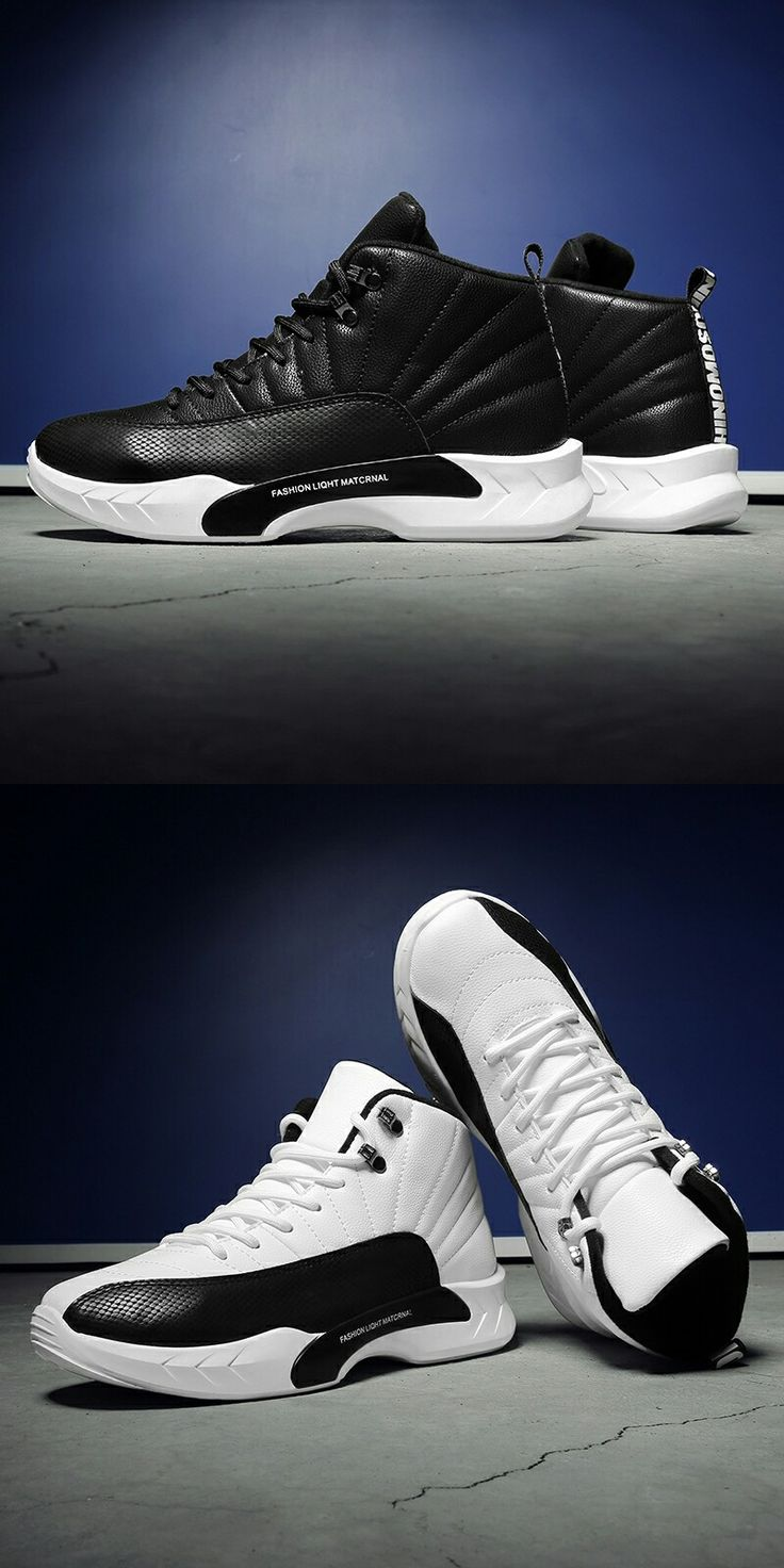 $21.98 <Click to buy> High Top Basketball Shoes For Men Trainer