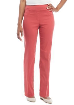 Ruby Rd Women's Key Items Millennium Stretch Pants - Paprika - 10 Average