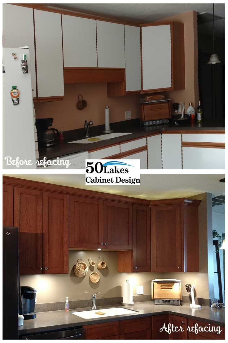 The Best Part Of A Cabinet Refacing Is The Before And After Photos Cabinetrefacing Befor Kitchen Cabinet Styles Cabinet Refacing Refacing Kitchen Cabinets