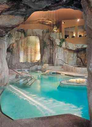 Indoor #pool. #Luxury #Lifestyle www.LuxuryItalianNeckties.com