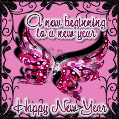 A New Beginning to a New Year Happy New Year via lovethispic.com