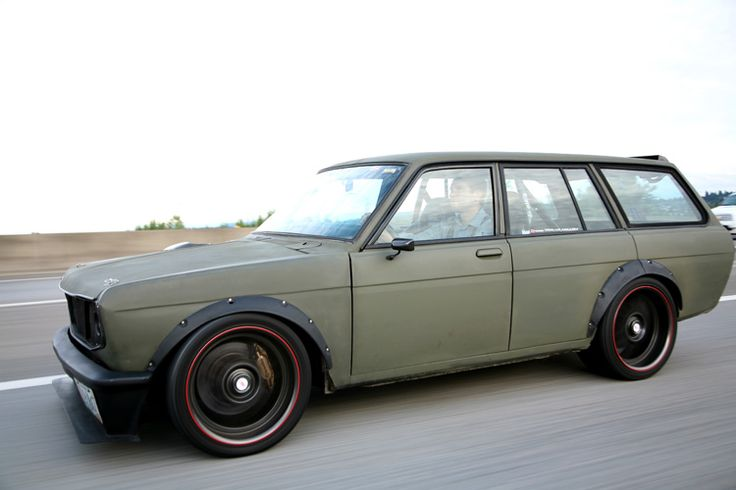 Datsun 510 Wagon  I remember my best friend Tony had one of these.
