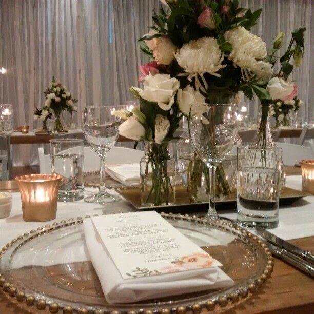 Classic gold wedding styling by Fashionable Society Events