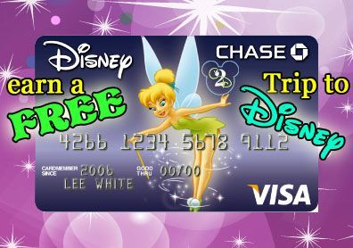 Earn a Free Trip to Disney with your Disney VIsa