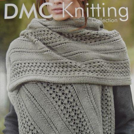 Mesh effect scarf knitting pattern from traditional wool shop www.woolstop.co.uk