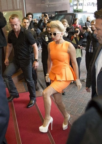 Lady Gaga Hits New Zealand