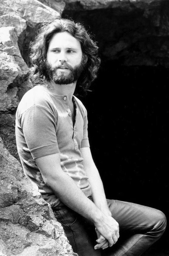 Jim Morrison | 27 club | the doors | leather pants and beard | www.republicofyou.com.au