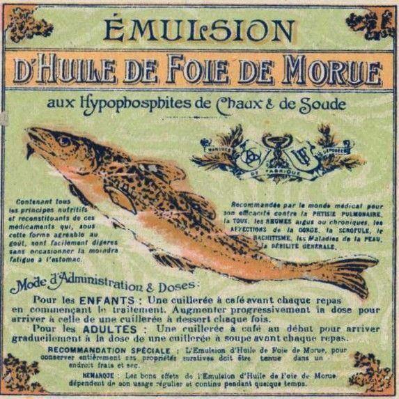 Uso tradicional aceite de hígado de bacalao