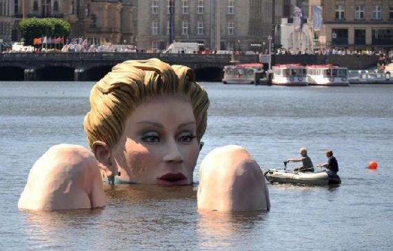 This would creep me out at night. Bather by Oliver Voss, Hamburg, Germany