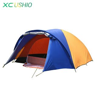 320x210x145cm Large doule layer tent 2 room for 3-4 person outdoor camping hiking hunting Ice fishing tourist emergency tent (32329131762)  SEE MORE  #SuperDeals