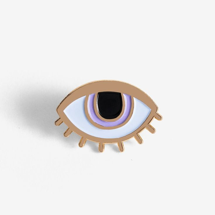 Image of Eyeball Pin + Post