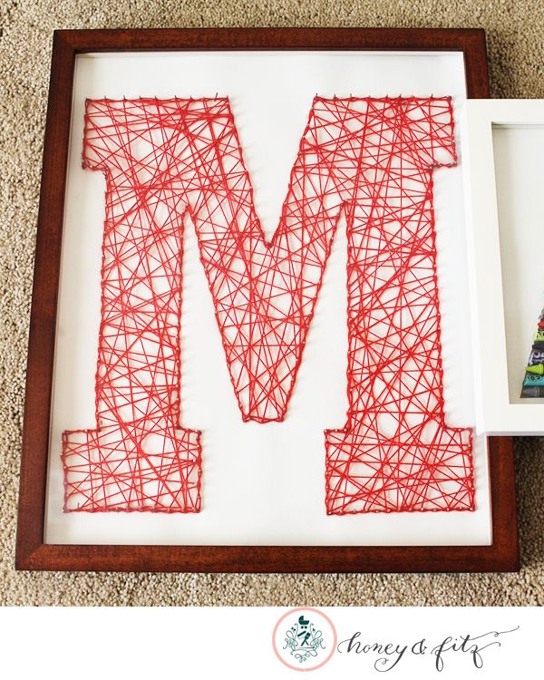 DIY Name Collage... this is so neat!