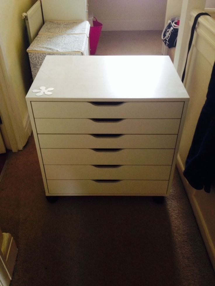 gumtree  white chest of drawers 2