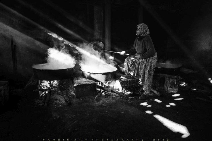 """ph. © Tahsin Gün """" molasses making"""""""