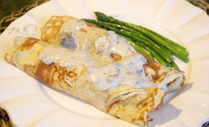 Μια φανταστική συνταγή για τους λάτρεις της κρέπας και των μανιταριών. Μια συνταγή που θα απολαύσετε με την οικογένειά σας και θα γίνει ανάρπαστη από τους