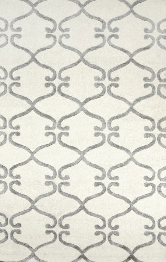 Rugs USA Spectrum Lattice GD44 Silver Rug Labor Day Sale Up To 80 Dining Room RugsLiving