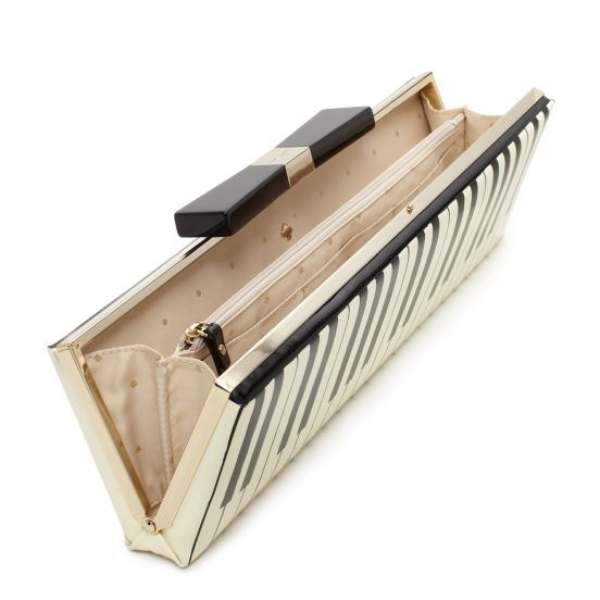 Kate Spade Piano Clutch - looks like a piano keyboard, love it