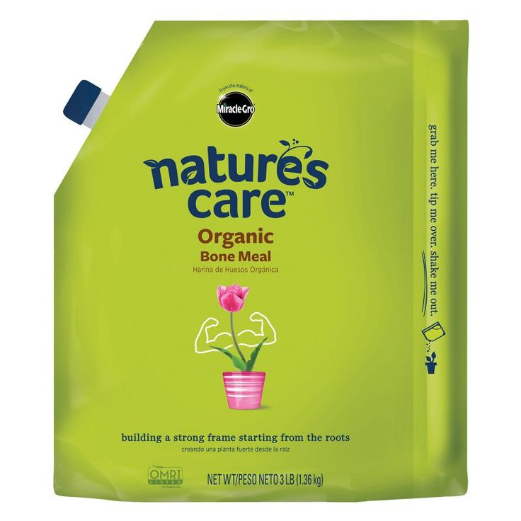 Scotts Miracle Gro 3 lbs. Natures Care Organic Bone Meal 6-8-0 - 1380-4430