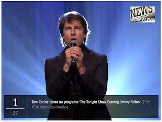 Águas da Vida: Tom Cruise surta em dublagem na TV americana