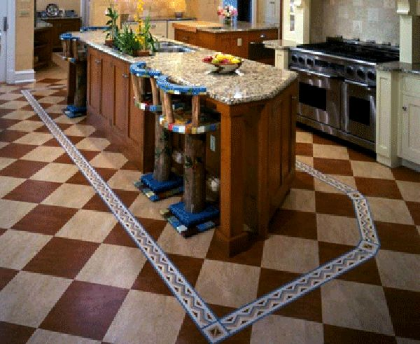 1000 images about linoleum flooring on pinterest for Modern linoleum flooring
