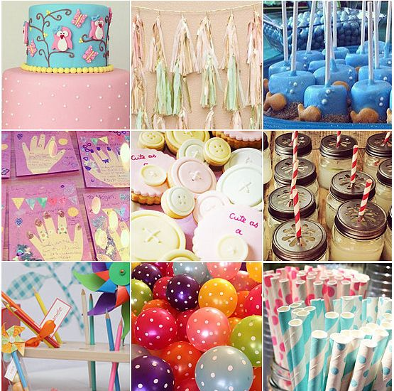 Fun kids party insspiration that can be found on Instagram