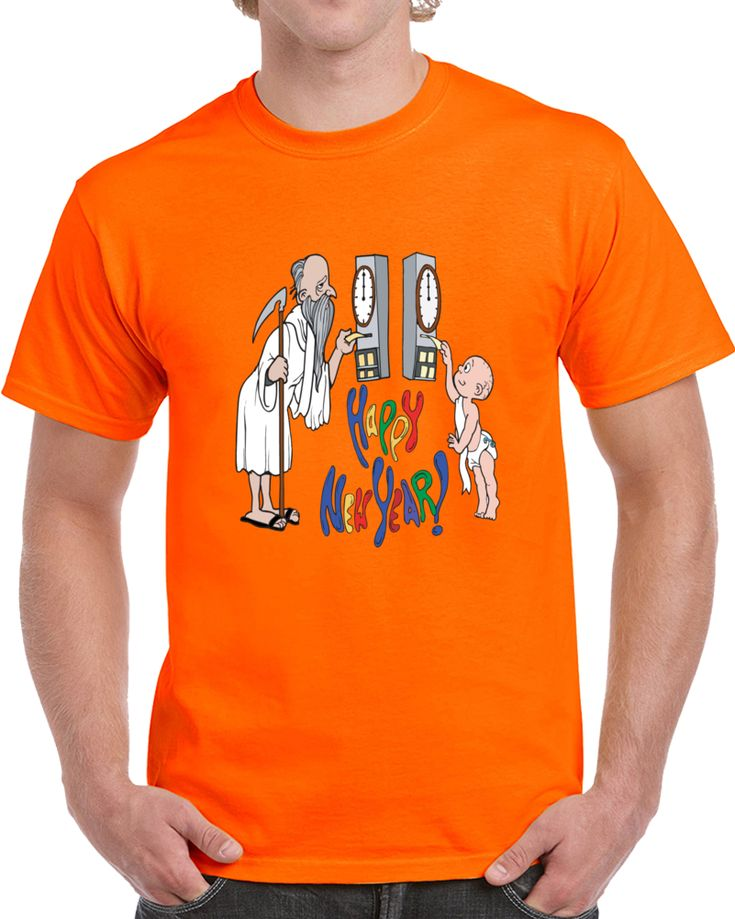 Happy New Year Old And Baby Year  T Shirt