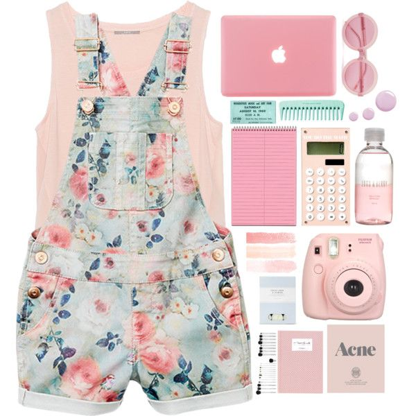 On Fridays we wear pink by tofulover on Polyvore featuring polyvore, fashion, style, Zara, Wildfox, Lord & Berry, Topshop, Laura Ashley and Prada