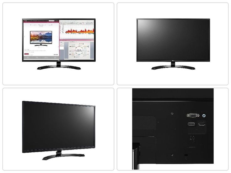 #Computer #Desktop #Monitor #LG 32-Inch Full #HD #IPS with #Display Port and #HDMI Input #LG