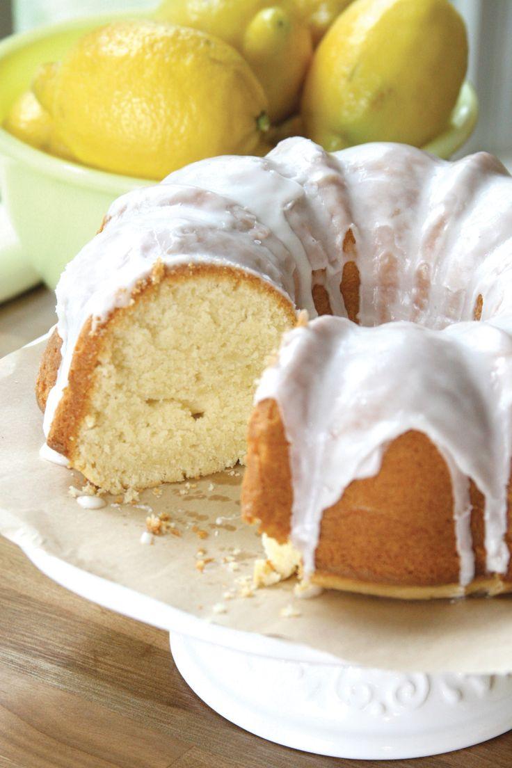 Lemon Zest Cake found in Yankee Magazine