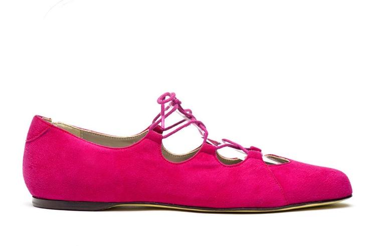 Acorbat Pink, corset, ballet, suede, pink