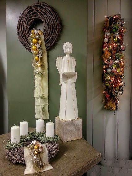ass den Wohnraum Frieden finden  #Advent #Weihnachten #Adventsdeko #Engel…