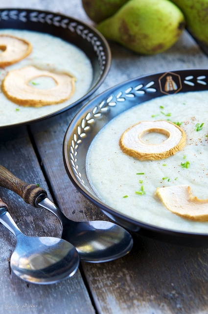 Celery Root and Pear Soup | Soups On! | Pinterest