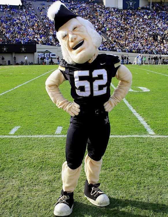 Vanderbilt University – Mr. Commodore These 30 Bizarre Sports Mascots Will Definitely Not Entertain You • Page 2 of 6 • BoredBug