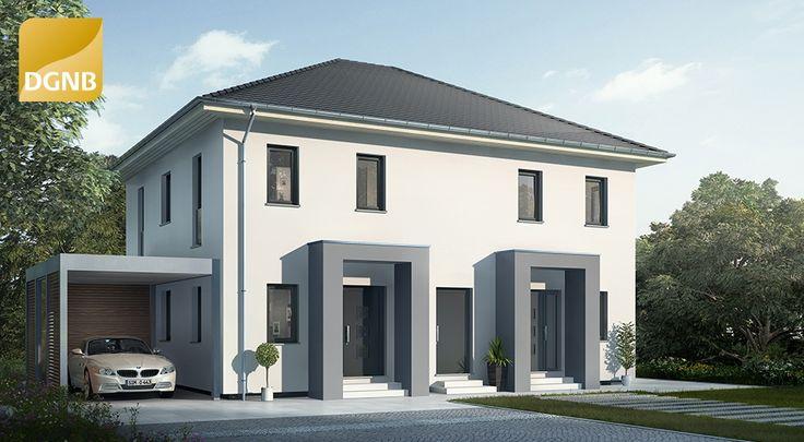 OKAL Doppelhaus mit Walmdach #OKAL