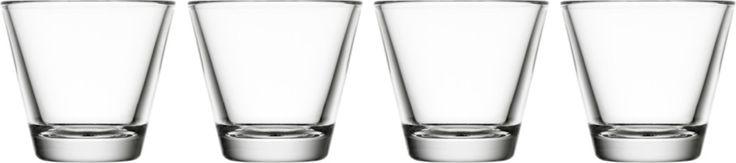 Iittala - Kartio Glass 7 cl clear 4 pcs - Iittala.com