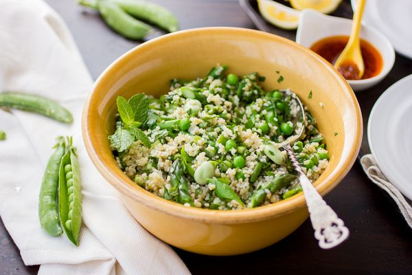 The Bojon Gourmet: Spring Tabbouleh with Harissa and Grilled Halloumi