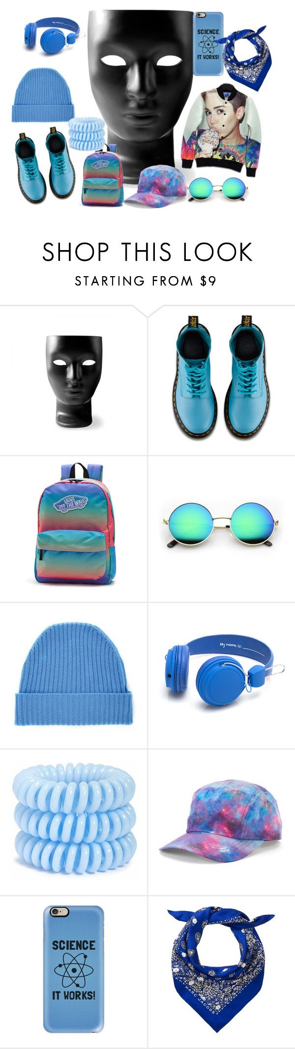 """""""miley"""" by liliapetrivna on Polyvore featuring мода, Driade, Dr. Martens, Vans, Orwell + Austen, Invisibobble, Fila и Casetify"""