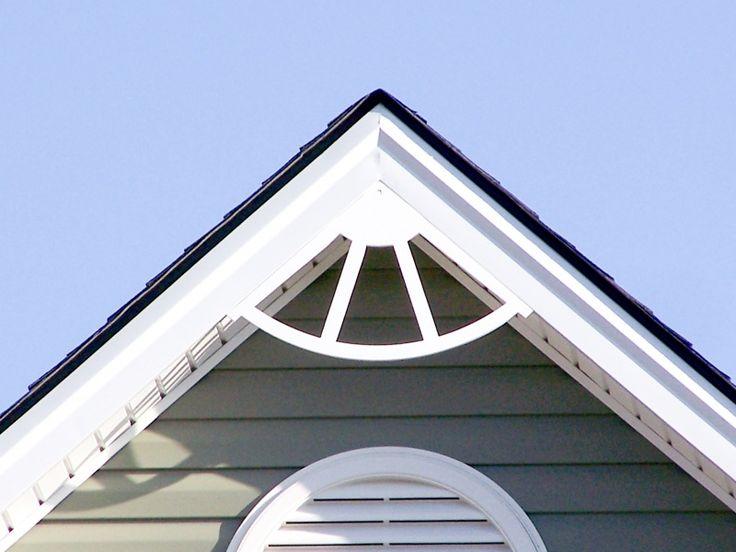 Exterior Gable Trim 16 best decorative gable trim images on pinterest | exterior