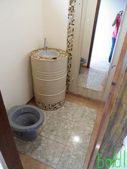 decoracao banheiro velho : decoracao banheiro velho:Lavabo para medio baño