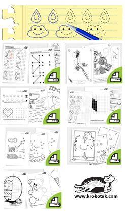 FINE MOTOR SKILLS. Printable practice sheets