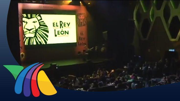 Presentan la obra El Rey León | Noticias de Espectaculos